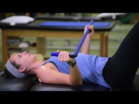 Orthopedic Rehabilitation: Shoulder Therapy Exercises