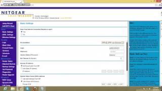 how to set bsnl braodband settings in netgear n150 modem