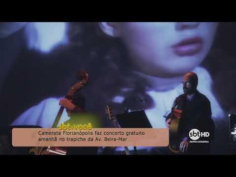 Camerata Florianópolis faz concerto gratuito no trapiche da Av. Beira-Mar