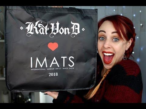 IMATS NYC 2018 Vlog & Massive Haul | GlitterFallout