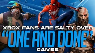 "Are Xbox Fans SALTY over PS4s ""One and Done"" Games?"