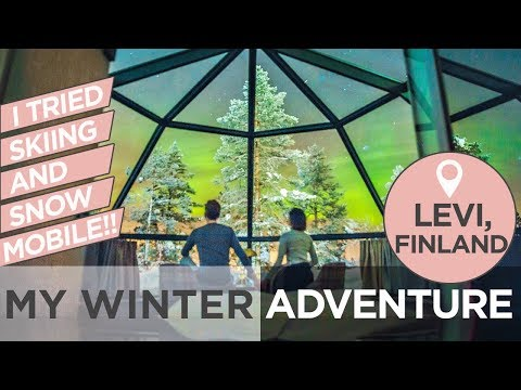 Skiing, Snow Adventures and Northern Lights At Levi | Camille Co