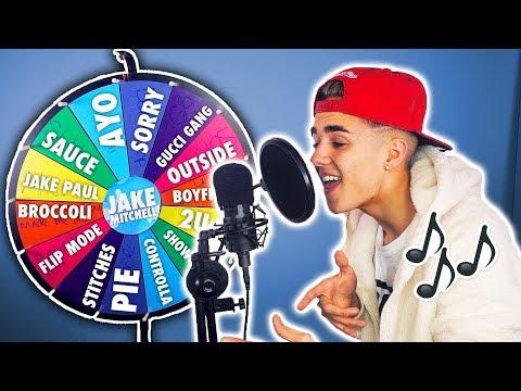 SINGING SPIN WHEEL GAME! (You Spin It, You Sing It)