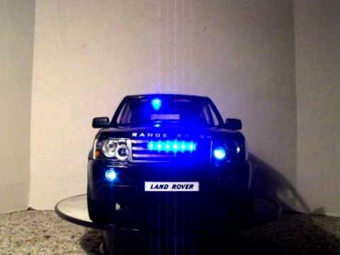 Range Rover Suv >> 1/14 Range Rover Land Rover British Undercover Police SUV Custom PATTERN LIGHTS - YouTube
