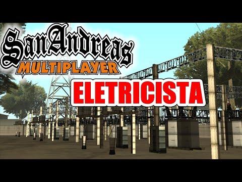 ELETRICISTA DE POSTES!! OI ?? - GTA SAN ANDREAS SAMP RPG