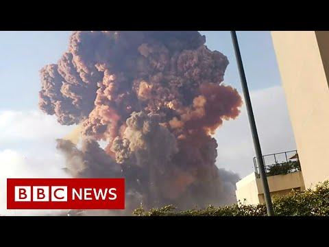 Beirut blast: Many injured as large blast rocks city - BBC News