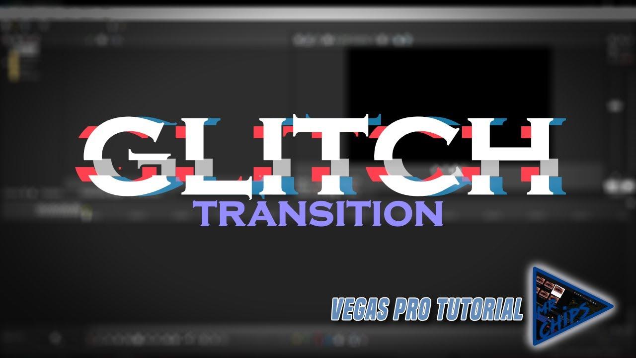 GLITCH TRANSITION EFFECT - Sony Vegas Pro 16 Tutorials (New Method-2019)