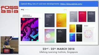 Artificial Intelligence Revolution – How, Why, What's Next - Thia Kai Xin - FOSSASIA 2018