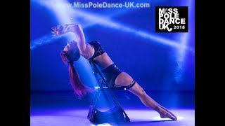 Sally-Ann Giles 1st Place - Miss Pole Dance UK 2018