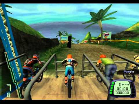 Downhill Domination — Gameplay (PS2) (HD)
