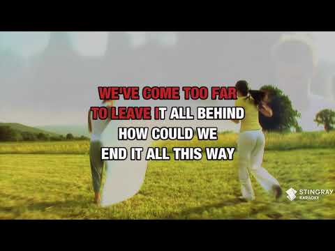If You Leave Me Now in the style of Chicago | Karaoke with Lyrics