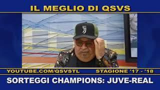 QSVS - SORTEGGI CHAMPIONS: JUVE-REAL  - TELELOMBARDIA / TOP CALCIO 24