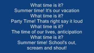 High School Musical 2 - What Time Is It? [Lyrics] Mp3