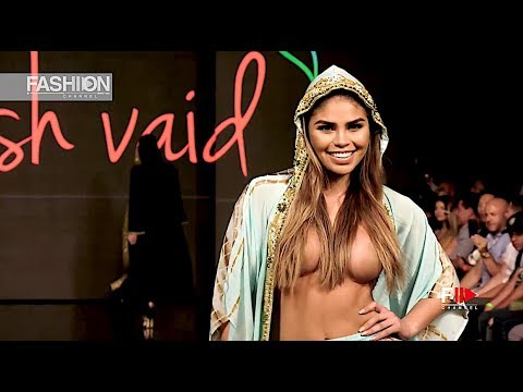 MANISH VAID Art Hearts Fashion Beach Miami Swim Week 2019 SS 2020 - Fashion Channel