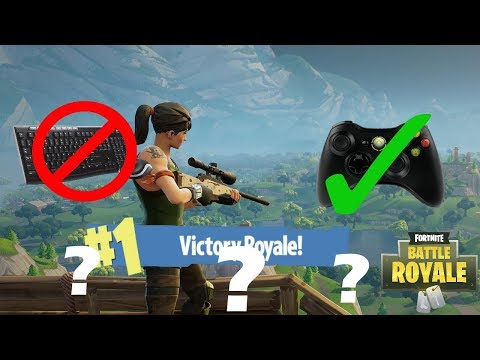 Playing Fortnite PC with an XBOX 360 CONTROLLER! (Fortnite Battle Royale Gameplay)