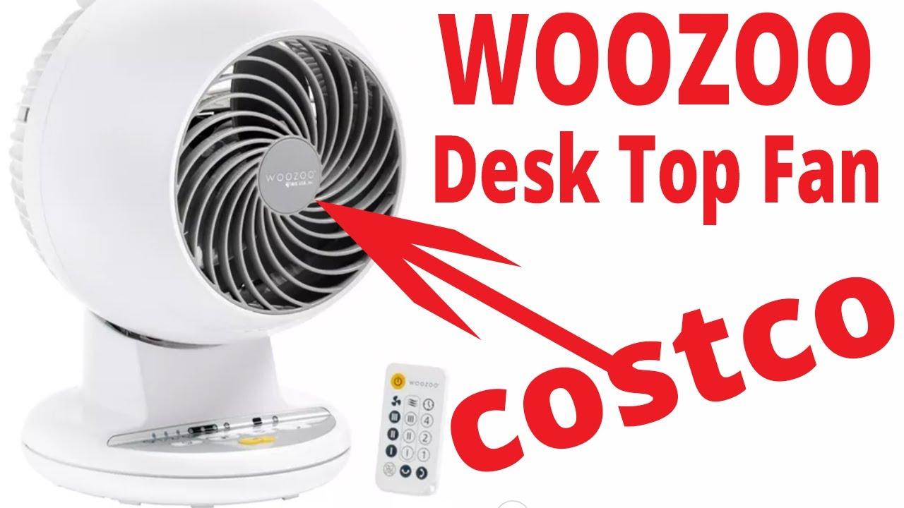 Download Costco DEALS WOOZOO Globe Desk Top Fan. Best Fan I've Ever Seen
