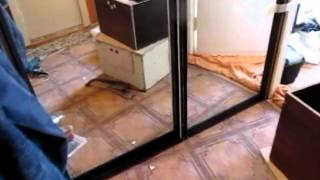 видео Проект четырехдверного зеркального шкафа купе в прихожую