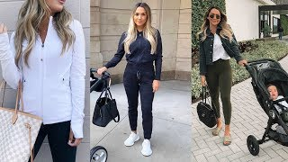 CUTE BUT CASUAL OUTFIT ESSENTIALS! ATHLEISURE STYLE thumbnail