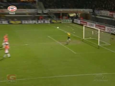 Alex goal RBC - PSV 1-2 (1-2) Amazing free kick