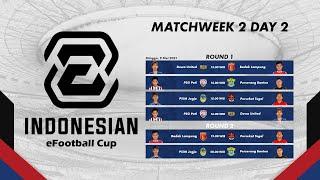 Indonesian EFootball Cup Matchweek 2 Day 2   PSIM Jogja Vs Perserang Banten