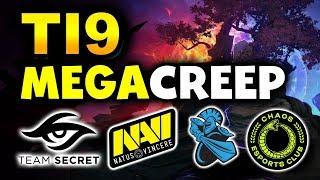 TI9 - BEST MEGACREEP COMEBACKS! - SECRET NAVI NEWBEE CHAOS TNC DOTA 2