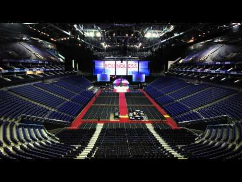 Boundless 2015 – O2 Arena Time-lapse