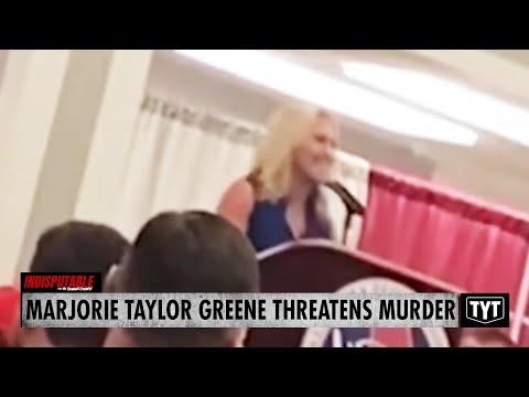 Marjorie Taylor Greene THREATENS MURDER