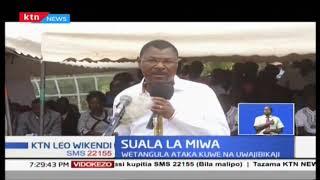 Wetangula adai kuwa Rais Kenyatta aliwalaghai wakulima wa miwa