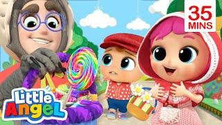Little Red Riding Hood | Stranger Danger Song + More Little Angel Kids Songs & Nursery Rhymes