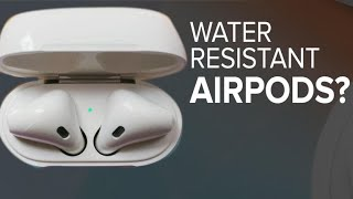 Will Apple's next Airpods be water resistant? (CNET News)