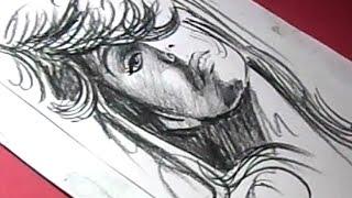 How to Draw Pop Singer Mariah Carey Drawing