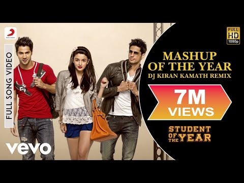 Mashup of the Year - Remix | Student of the Year | Alia | Varun Dhawan