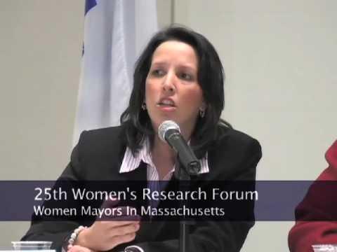 Women Serving as Mayors in Massachusetts (2008)