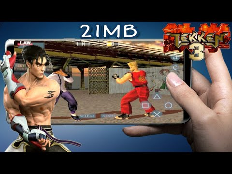 Tekken 3 Apk Download || Tekken 3 Android PPSSPP Highly Compressed Download  all gpu Any Device danis