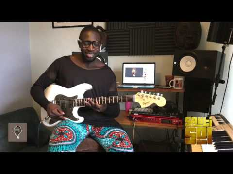Play Along (Fancy Fingers) Guitar Tutorial -  Live and Die in Afrika