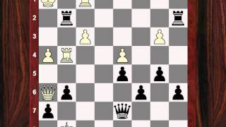 Chess Strategy: Evolution of Style #105 - Albert Becker vs Max Euwe - e-file counterattack!