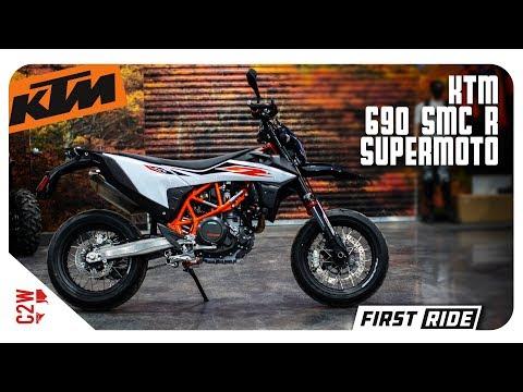 2019 KTM 690 SMC R (Supermoto) | First Ride