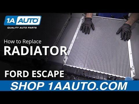How to Replace Radiator 08-12 Ford Escape