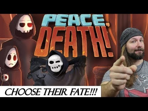 Peace, Death! Switch Review (Arcade SIM - Indie Game)