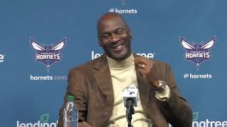 Watch Michael Jordan's entire NBA All-Star Game press conference