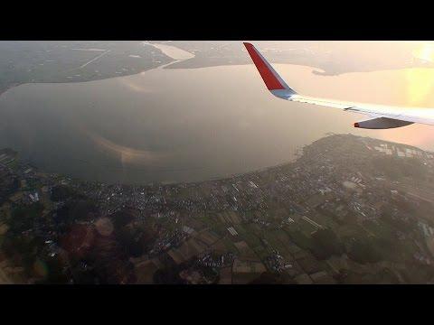 ノーカット82分!!! 関空発成田行 Jetstar Airways GK206 Kansai - Narita A320 [機窓2014]