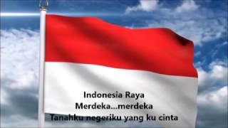Instrumen Lagu Indonesia Raya Tanpa vokal (Karaoke) / Indonesian National Antham Without Vocal