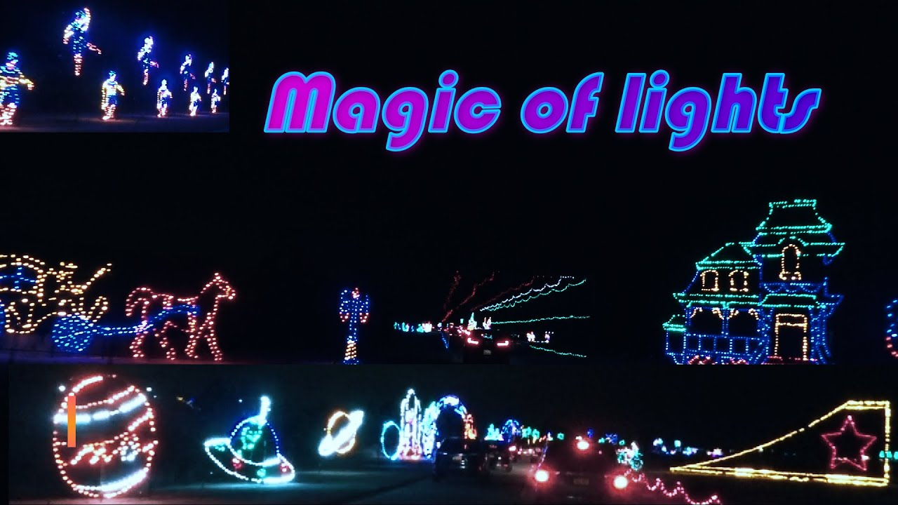 Magic of Lights in Jones beach