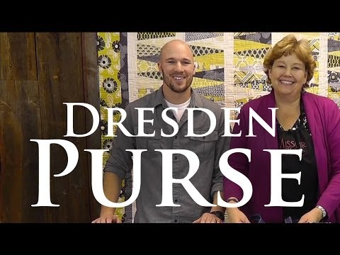"The Dresden Purse - Make a Gorgeous Purse Using Layer Cakes! (10"" Squares)"