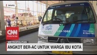 Angkot Ber-AC Untuk Warga Ibu Kota