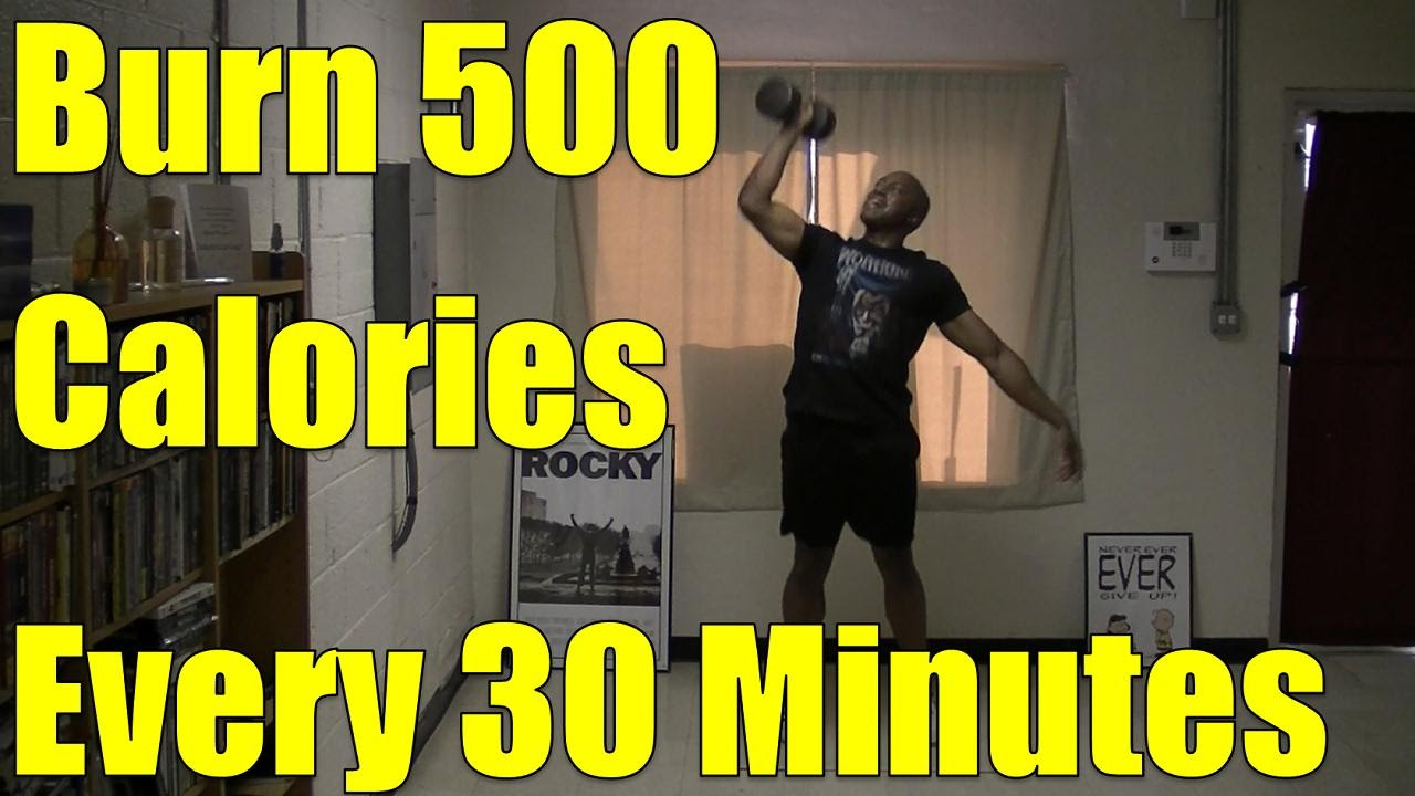 10 Minute HIIT Workout At Home Burn 500 calories every 30 minutes