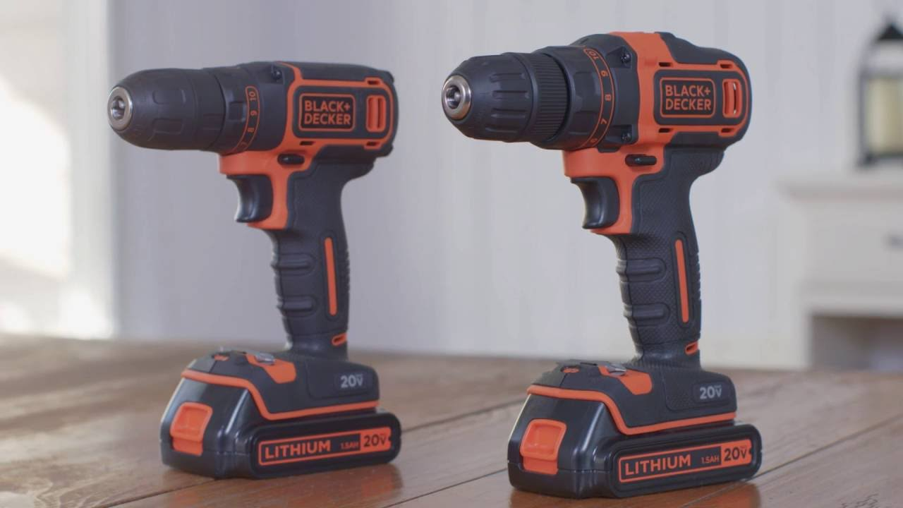 20V MAX* Lithium Drills from BLACK+DECKER - YouTube