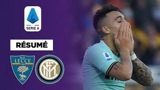 VIDEO: Résumé : L'Inter Milan piégée par Lecce !