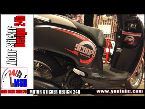 Honda scoopy 2015 new 110 modified honda scoopy youtube