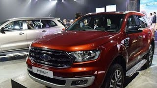 2019 Ford Endeavour Facelift - All You Need to Know !!
